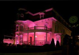 Brogan & Partners pink building