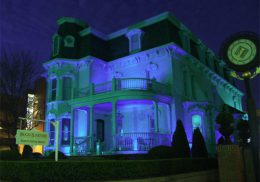 Blue Peabody Mansion for Autism