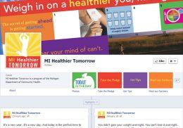 MI Healthier Tomorrow Facebook page