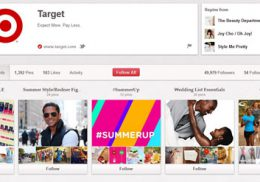 Pinterest Partners with Brands