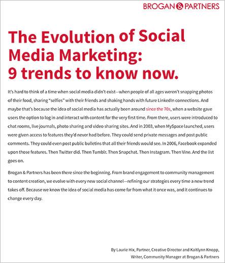 The Evolution of Social Media Marketing Whitepaper