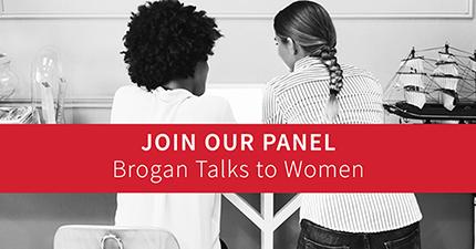 Brogan Talks to Women