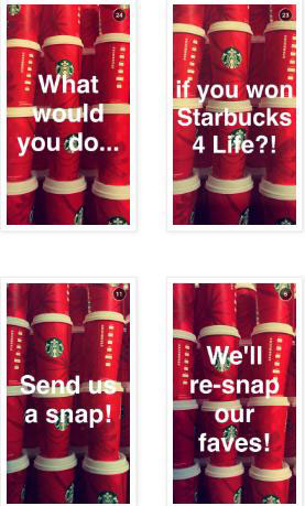 Starbucks promotion