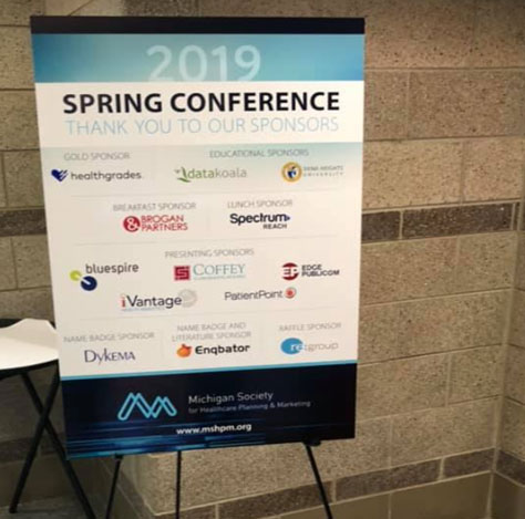Our 6 top takeaways from the Michigan Society for Healthcare Planning & Marketing Conference 2019