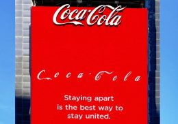 Coca-Cola COVID-19 ad message