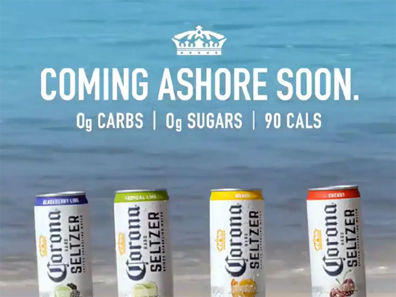 Corona coming ashore