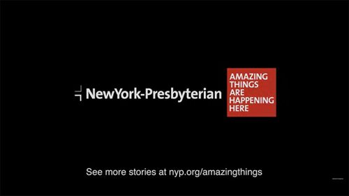 Healthcare Advertising Example #2: New York Presbyterian Hospital